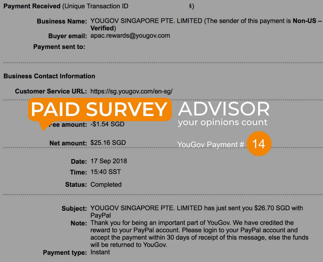 YouGov Online Paid Survey Review | Paid Survey Online Advisor