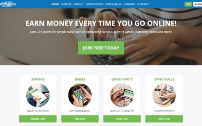 GetPaidTo.com Review – Make Money Online From Home