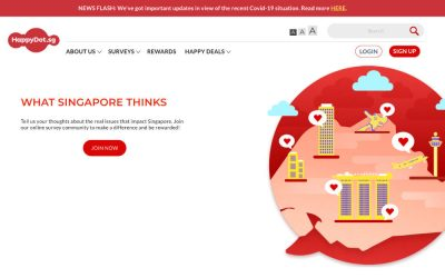 HappyDot.sg Review – A Legit Paid Survey but Not For Everyone