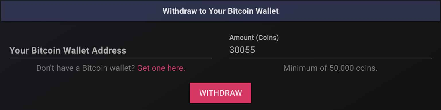 cointiply payout