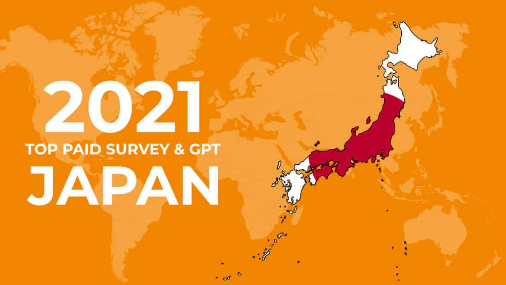 paid surveys japan
