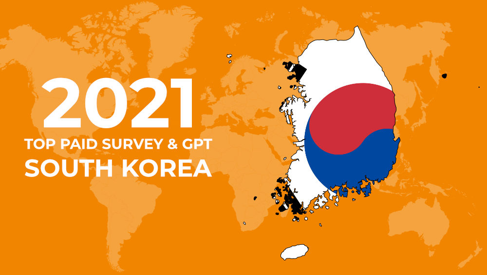 paid surveys south korea