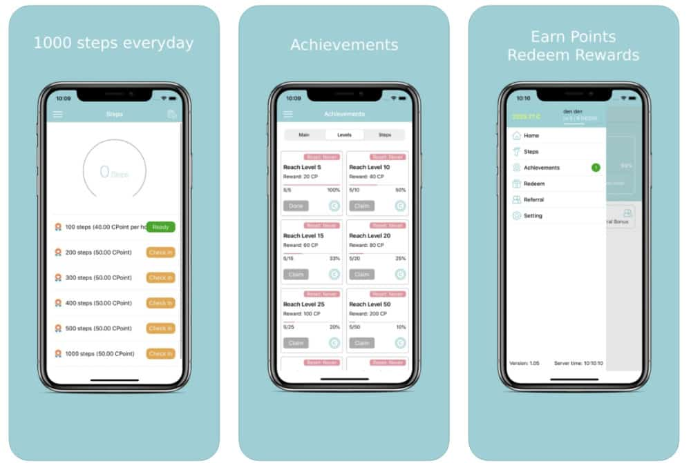 coinpify review - paid to walk and earn